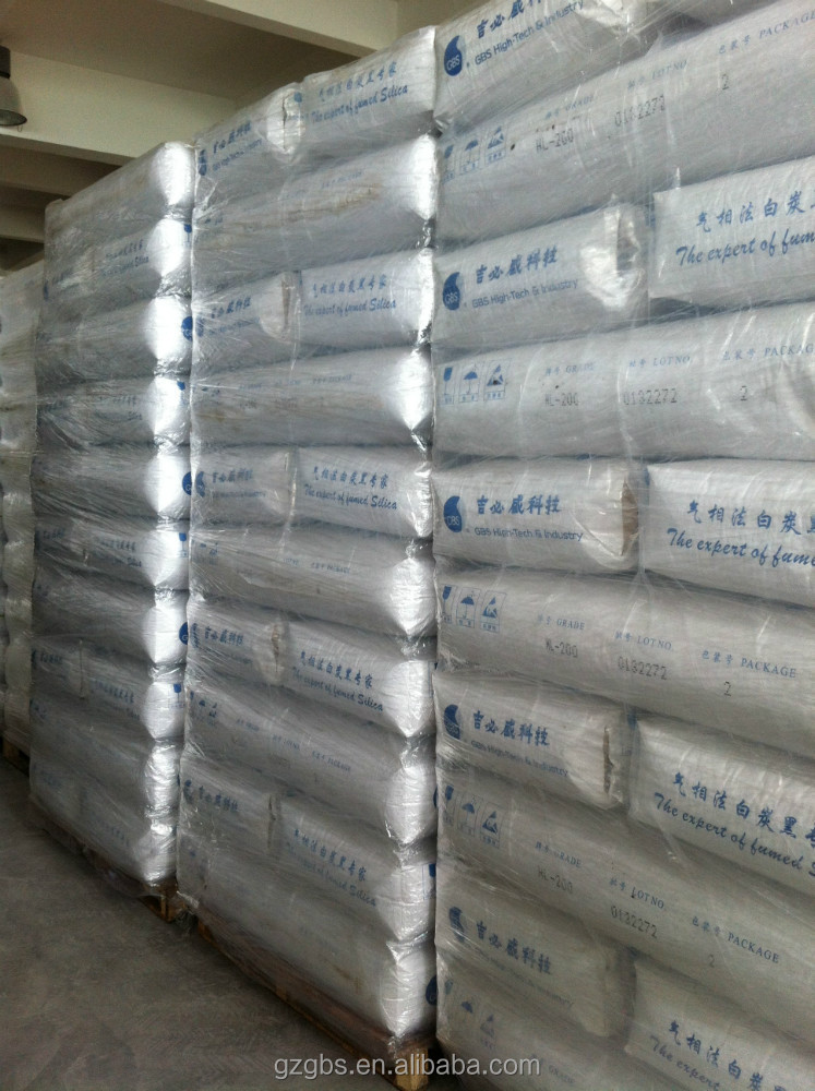 Good quality raw materials carbon black suppliers fumed silica HB-151