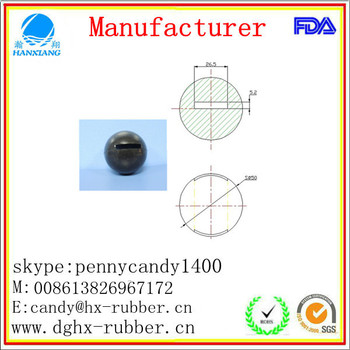 Dongguan manufacturer high bouncy custom silicone ice ball