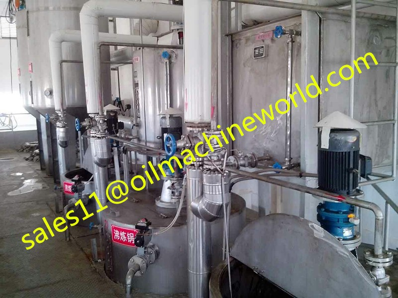 Animal Pork fat oil extraction machine and refining machine