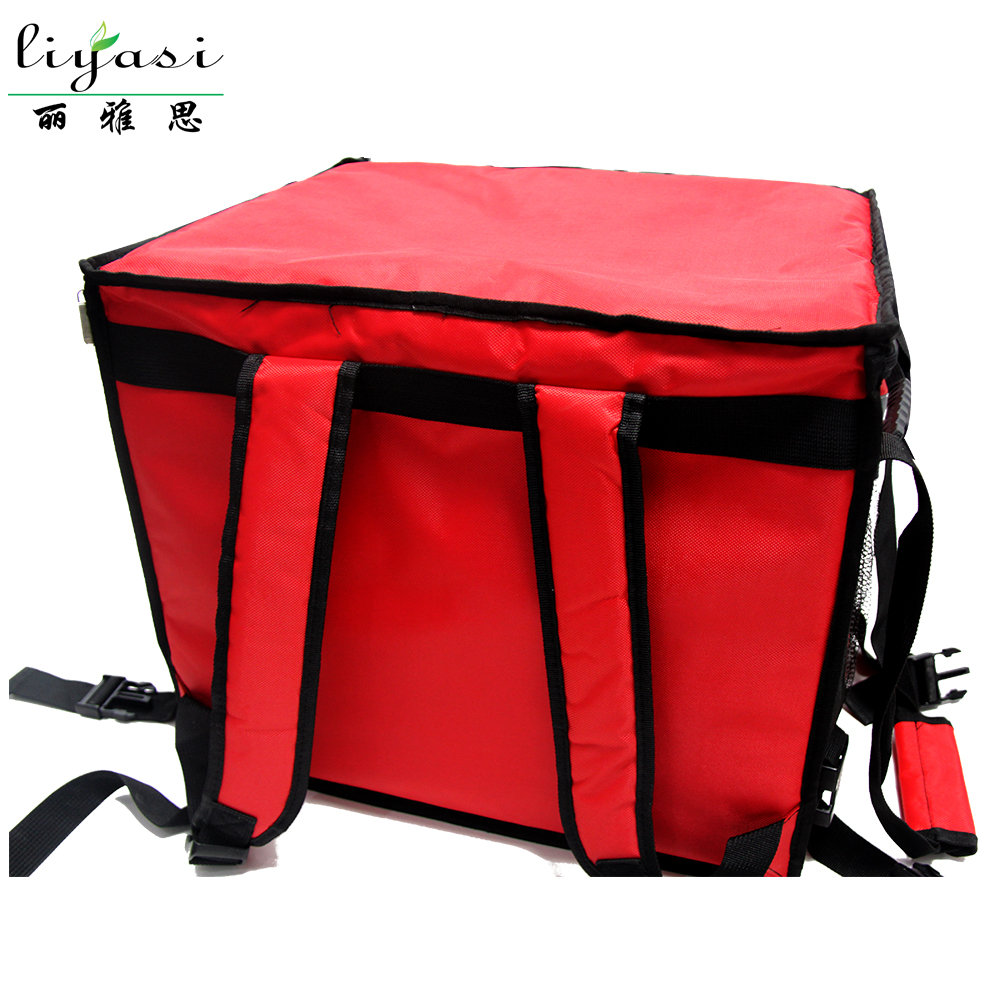 Outdoor Fir Far Infrared Heating Pizza Warmer Bag Drinking Delivery Backpack