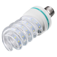 Alibaba china supplier SMD2835 new design spirals style screw type 16W E27 led corn light bulb