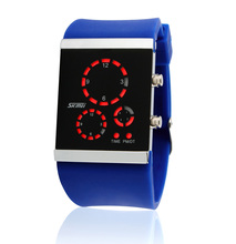2014 china wholesales binary touch screen led watch