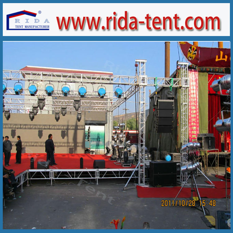 Sale stage used aluminium truss for stage light