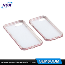 2017 Trendy product MOQ=100pcs free sample TPU PC 2 in 1 phone case for iphone 7 7plus