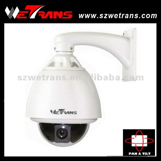 WETRANS 7'' High Speed Dome Built-in Samsung SDM-231 Camera Module 23X Zome IP PTZ Camera