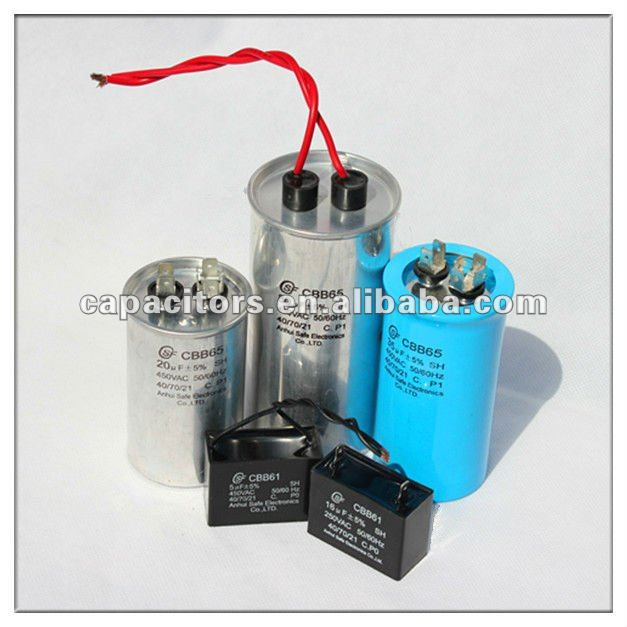 Tubular Wrap and Fill AC capacitor for motor application