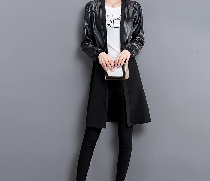 China Women's Clothing Factory Women's Wenzhou Leather Jackets Pure Wholesale Jackets