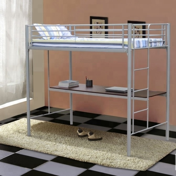 2016 Hot Selling Custom Cheap Adult Bunk Bed Metal Kids Loft Bed With Desk  - Buy Loft Bed,Kids Loft Bed,Loft Bed With Desk Product on Alibaba.com
