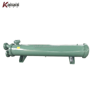 Factory Price Good Quality heat exchanger 80HP Shell and Tube type Water Cooled Condenser