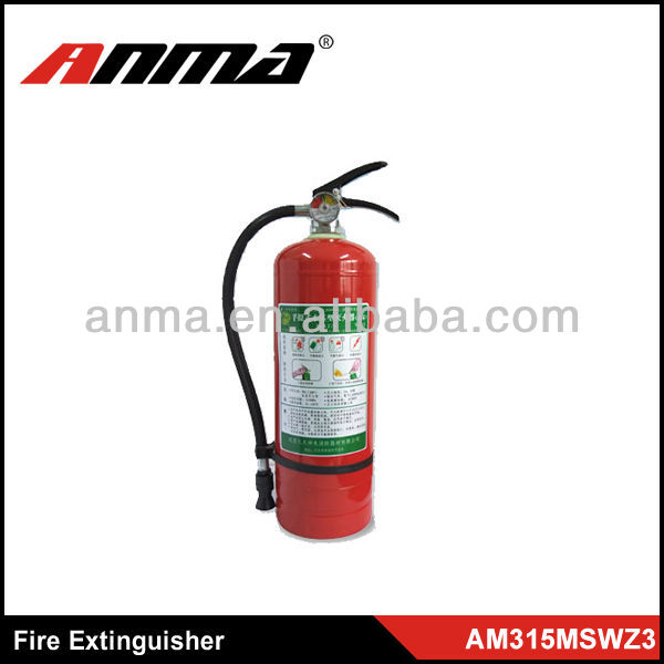 China best price of automatic 6kg co2 fire extinguisher