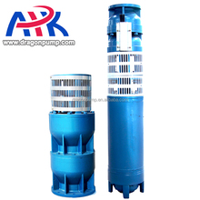 Flow 80 M3/H Underground Vertical Multistage Turbine Speed Spray Submersible Well Pumps For Agriculture