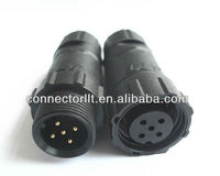 Male Insert Electric Wire Connector Plug