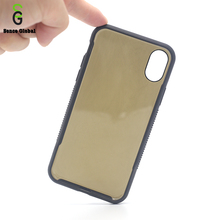 Wholesale OEM brown transparent squishy cell phone case for iphone