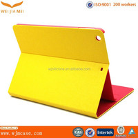 Factory mold wholesale PU leather case for ipad sleeve magnetic