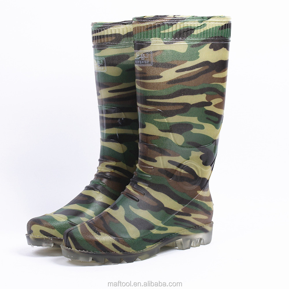 color rain boots without steel toe/wellington boots/rain shoes