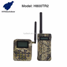 Power off memory digital camoflage mp3 player hunting device with bird sounds H800TR2