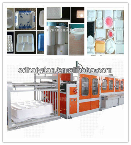 disposable ps foam tray/bowl/dishes making machine