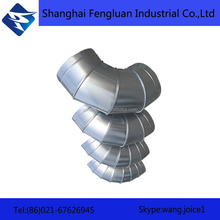 Stainless Steel / Galvanized Pipe Fittings Bend 90 Degree Elbow