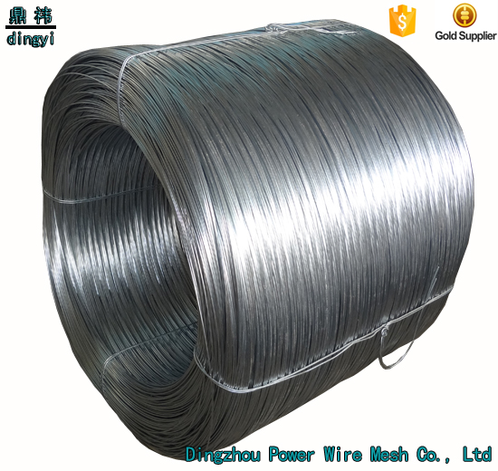 alibaba hot item Hot dipped galvanized drawn wire for dipping power nail