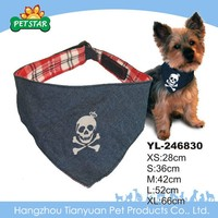 Wholesale I Love My Dog Custom Printed Triangle Fashion Dog Bandana