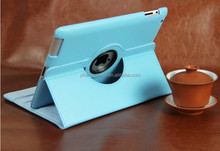 Fashion PU leather 360c rotatable smart case for iPad 2/3/4 retail and wholesale selling