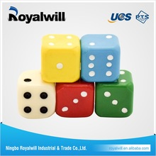 Custom High Quality Plastic Dice Printed Game Dice Engraved Colored Dice