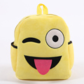 Free Simple Lovely Cotton Fabric Emoji Backpack