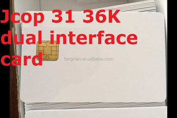 For JCOP31 36K Java Card dual interface with original chips