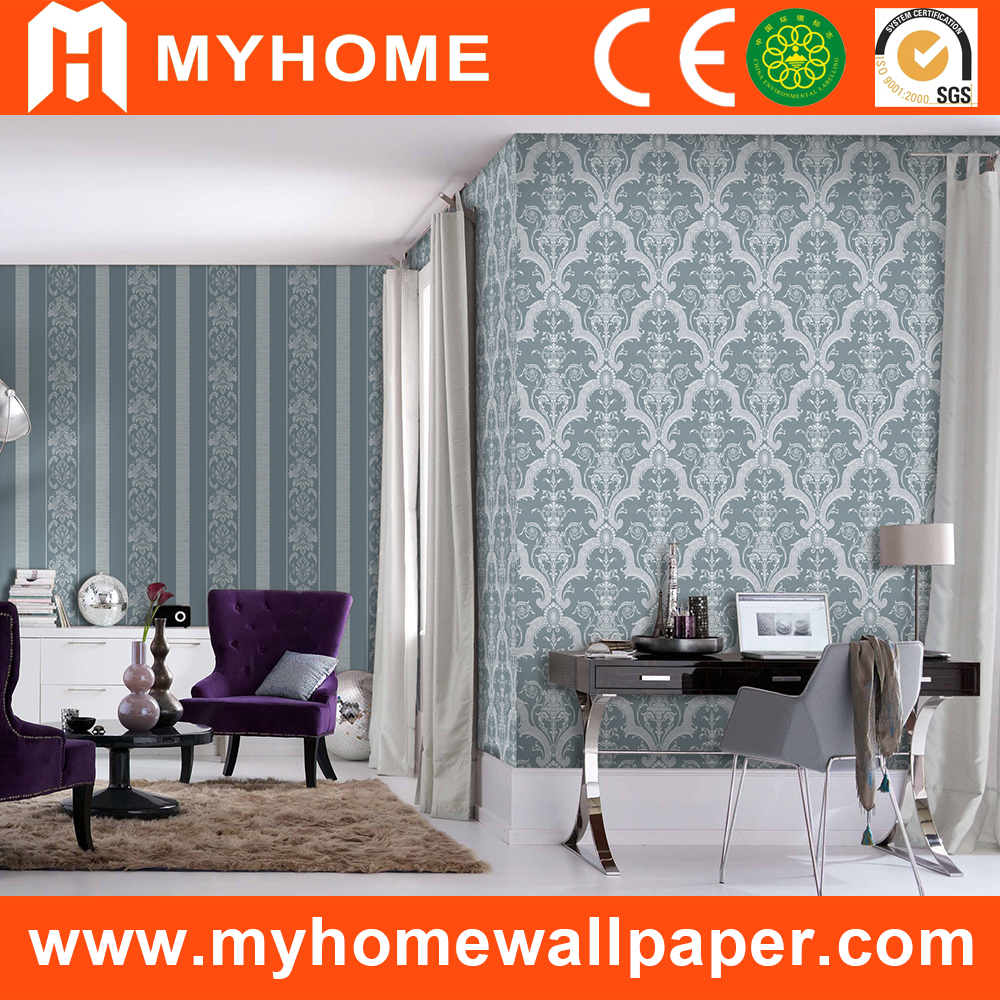 Washable PVC Waterproof wallpaper for bathrooms