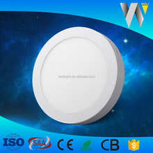 high quality surface mounted panel light price list 25w led ceiling lamp