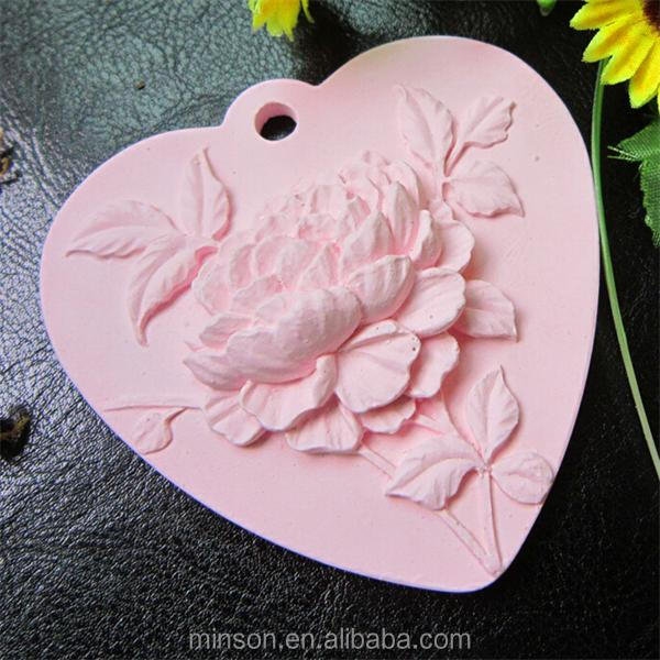 Heart shaped scented stone ceramic aroma diffuser