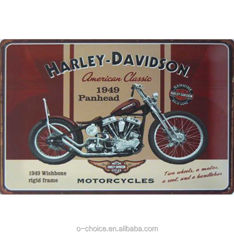 Most popular wall decorative vintage tin sign