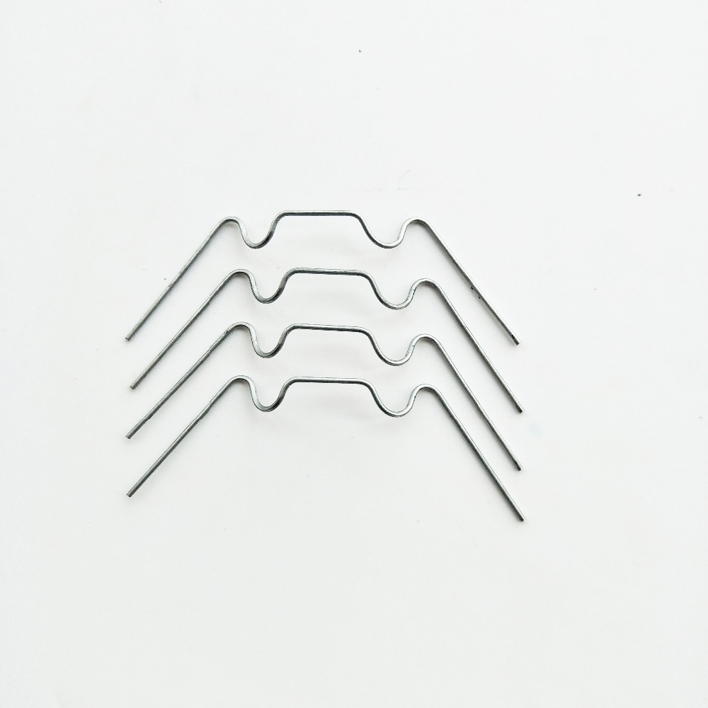 Greenhouse Parts Spares Spring Wire ' <strong>W</strong> ' Glazing Glass Clips pack of <strong>100</strong>