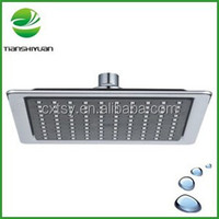 Bath shower head abs plastic square shower head