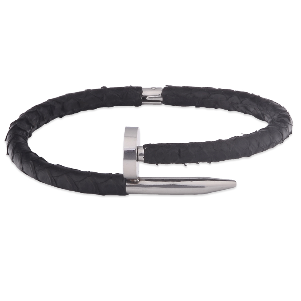 Best Selling Handmade Wide Leather Bracelet Mexico