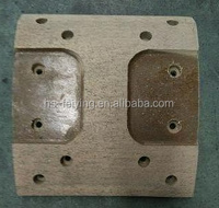 Japanese truck brake lining ( HINO ZY R-2) without asbestoes and with asbestoes