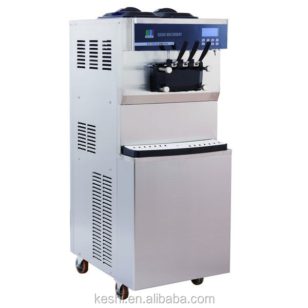 commercial high quality big capacity ice cream machine with CE approved