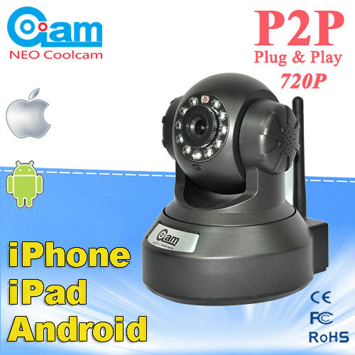 NEO COOLCAM P2P outdoor wifi ip camera with iphone app