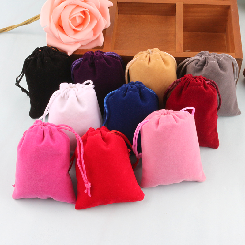 Factory Supply jewelry pouch velvet, drawstring jewellery pouches, jewelry pouch for sale