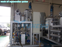 Waste oil recovery system get base oil china oil purifier