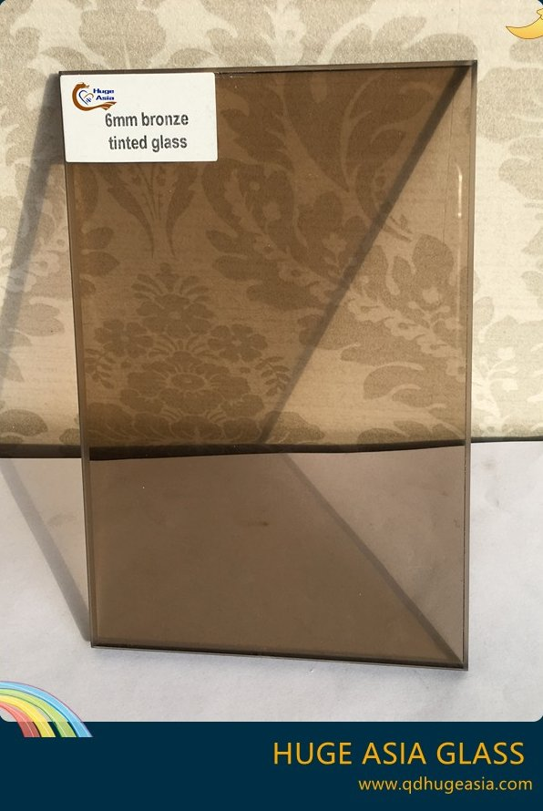 3-12mm Bronze Tinted Glass with Good Price