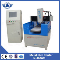 Metal engraving machine 4050 model low price cnc router for metal and mold making