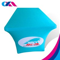 no moq accept any logo design table cloth with low price