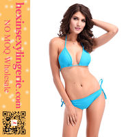 New style hot short unlined adult women crotchless bikinis