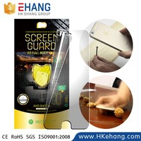 Mobile phone accessories remove air bubbles screen protector for iphone