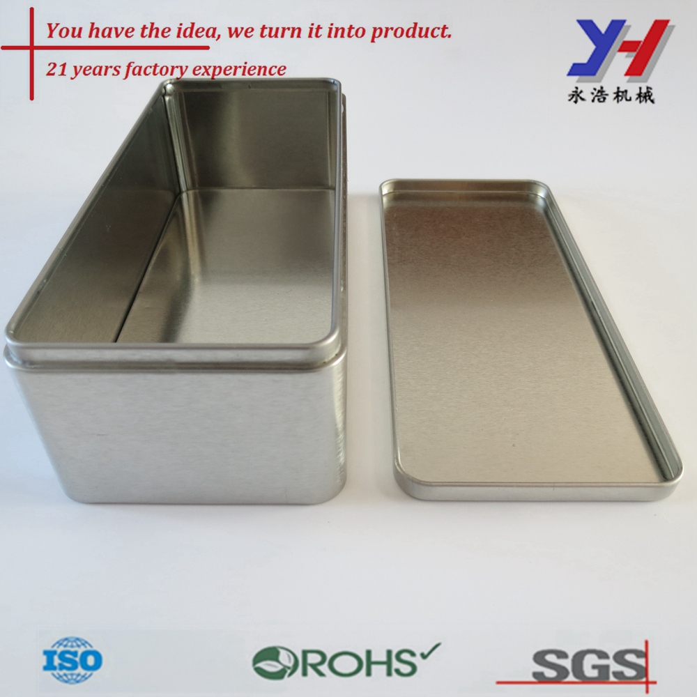 custom fabrication of packaging box,chocolate tin box as your drawings