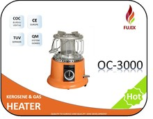 Good burning efficiency Gas Heater OC-3000