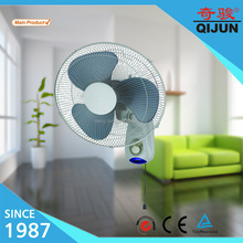 16 inch green color industrial wall mounted fan with big air flow