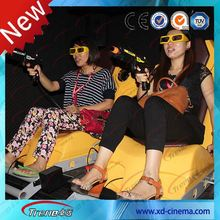 5D Cinema Simulator for 12 persons Blue 5d cinema movie