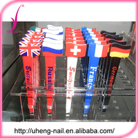 Customized printed pattern stainless steel pointed tip eyebrow tweezers